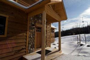 Front door of Tempest Ridge Townhome