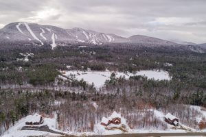 View of Peaks Village and Sunday River