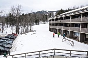 Slope access to Fall Line Condos