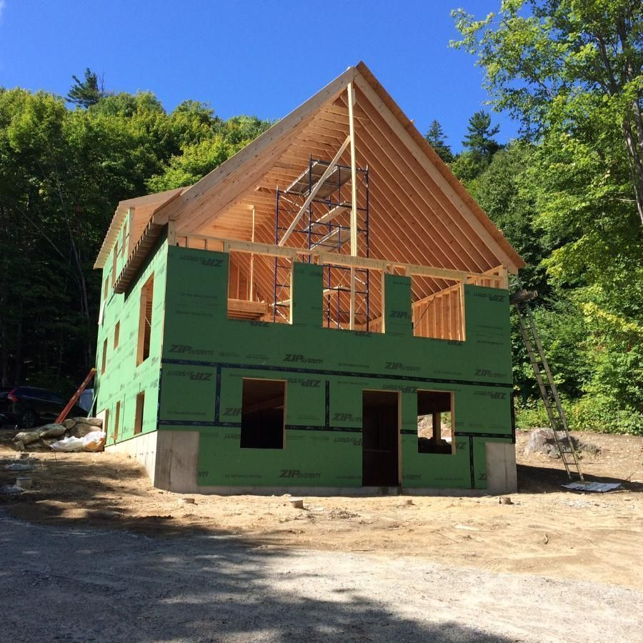 Partially-built home