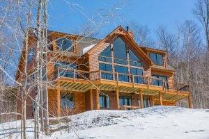 Mountain home exterior