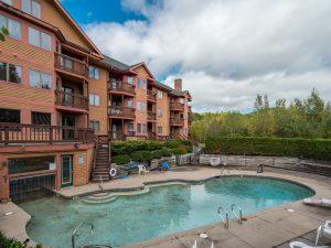 Chamberlain condo outdoor pool