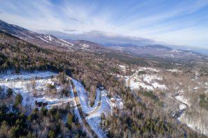 Aerial view of Locke Summit