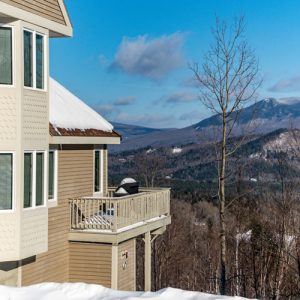 Deck on Locke Mountain Townhouse