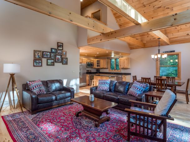 Living Room in Vacation Home