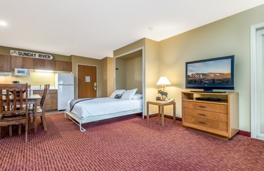 1 bedroom unit at Grand Summit Hotel
