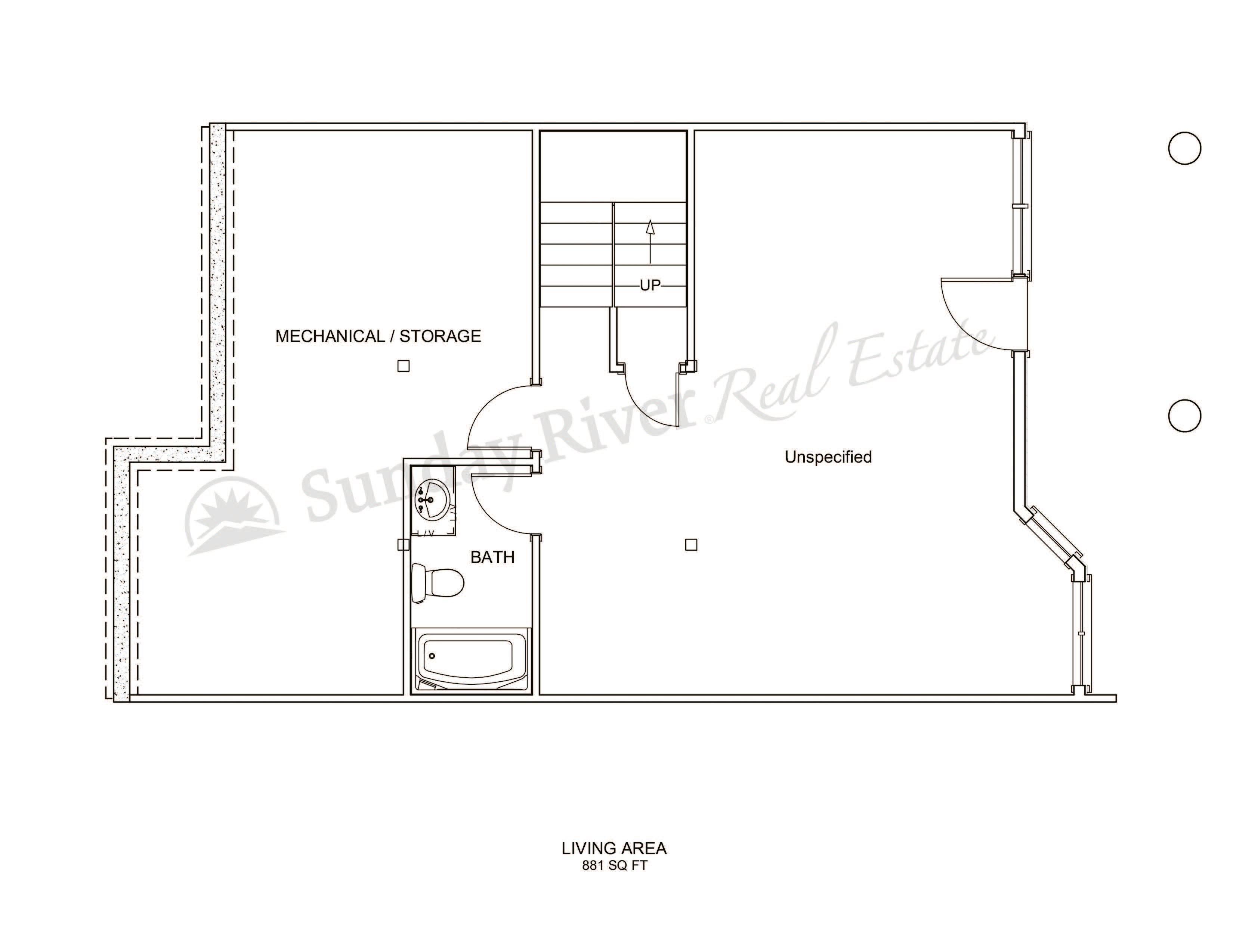 Center Unit | Basement Level