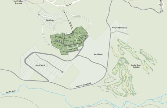 Merrill Hill Lot map full