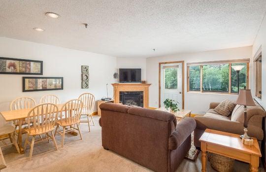 Brookside Condo Living Room