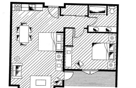 Unit Type D Floor Plan