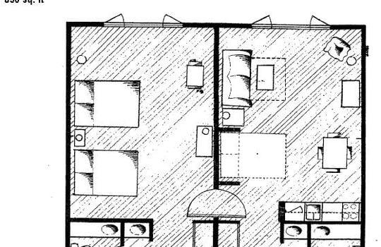 Unit Type H Floor Plan