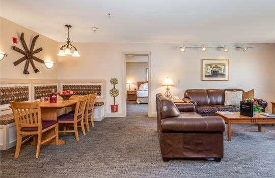 Jordan Suite Living Area