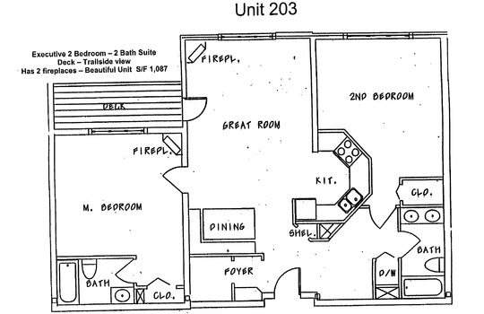 203/205 unit floor plan