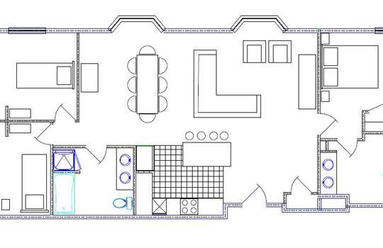 Floor plan for 482