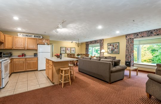 3-bedroom dining space