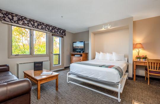 Jordan murphy bed living area